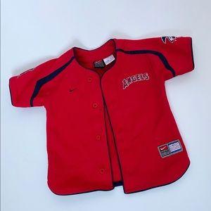 Toddler 2T Nike L.A. Angels MLB Baseball Jersey